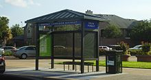 Houston energy corridor bus stop near zip code 77079