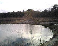 picture of pond near Addicks Tx Neighborhood 77084